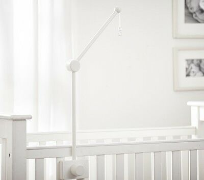 Pottery Barn Wooden Crib Mobile Arm Ivory