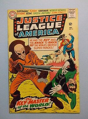 Justice League Of America 41 (Dec 1965, Dc) Vg (Low Starting Bid-No Reserve)