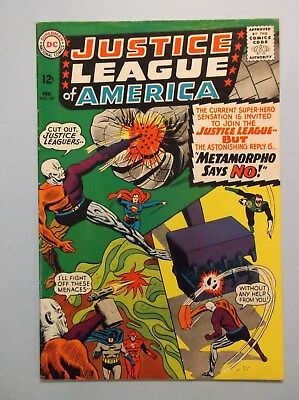 Justice League Of America 42 (Feb 1966, Dc) Fine-  (Low Starting Bid-No Reserve)