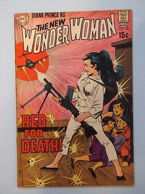 Wonder Woman 189 (Aug. 1970, Dc) Fine+ (Qualified) (Low Start Bid-No Reserve)