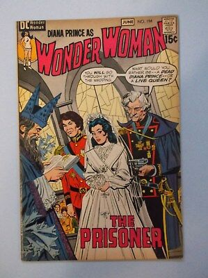 Wonder Woman 194 (June 1971, Dc) Very Fine-  (Low Starting Bid-No Reserve)