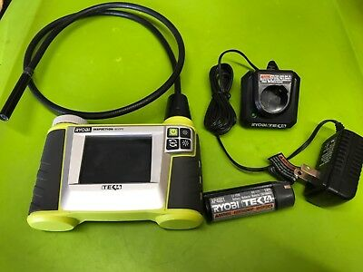 Ryobi Tek4 Digital Inspection Scope RP4206 w/Charger & Battery