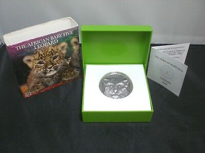 2014 Burundi The African Baby Five Leopard # 264 Look!!!