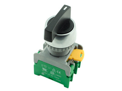 LRS-22 ATI 22mm Selector Spring Return Momentary Switch 2NO 3 Positions