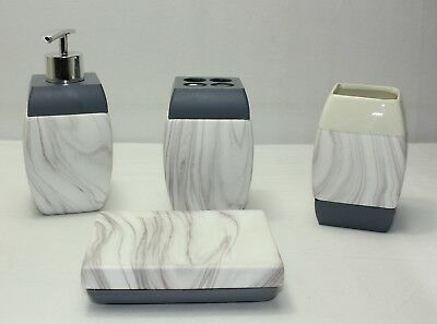 New 4 Piece Ceramic Bathroom Set 31029