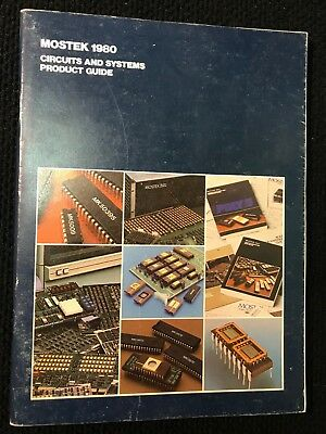 Mostek Circuits & Systems Product Guide 1980, Vintage Computer Data