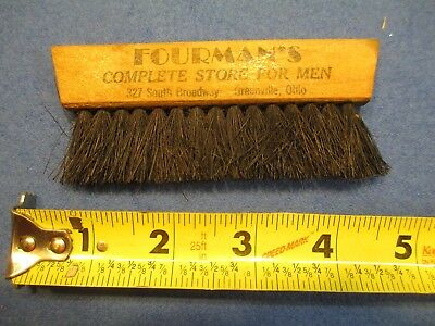Vintage Greenville Ohio Fourmans Store for Men Brush  Mayfield clothes