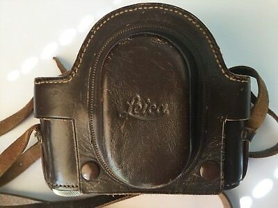 Rare CATHEDRAL CAMERA CASE Suits Old I, II or III -accessory can to be left on