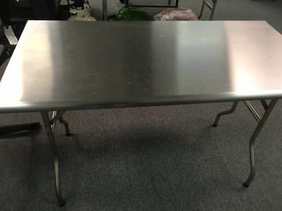 Royal Gourmet Stainless Steel Folding Work Table little defective