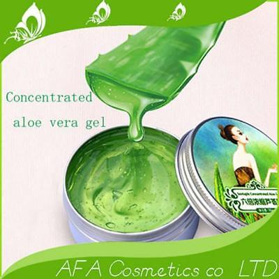 Aloe Vera Gel 100% Pure Natural Organic Skin Care Face Body 6 x Concentrated 3RF