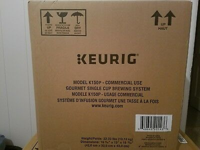 Keurig K150P Gourmet Single Cup Brewing System - Commercial Use