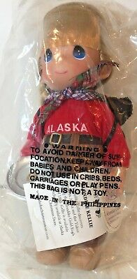 Precious Moments Klondike Kellie Doll 3357 Alaska Christmas Store Hand Signed