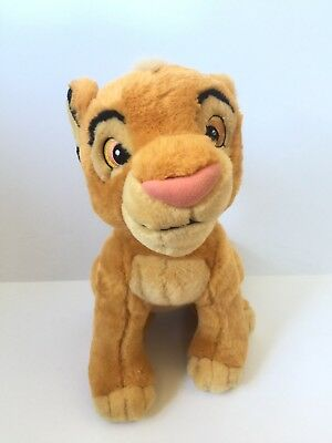 SIMBA Plush Lion King Stuffed Animal Toy Authentic Disney Store 13""