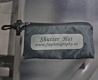 (2) Shutter Hat Rain Coats For Use With 35 Mm Camera And Short Lenses