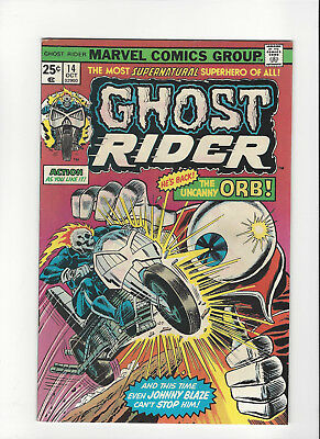 Ghost Rider #14 (1974) FN+ New Original Owner Marvel Comics Collection