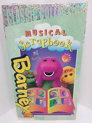 Barney Barneys Musical Scrapbook Vhs 2000 Classic Collection