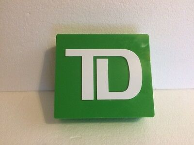 TD BANK promotional COIN BANK --- FREE SHIPPING