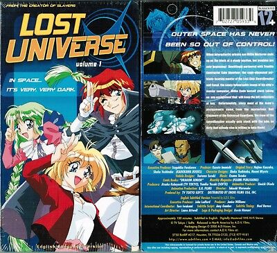 lost universe vhs