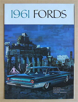 1961 Ford Full Line Sales Brochure