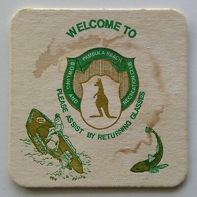 Pambula Beach Bowling And Recreation Club Please Assist By Coaster (B270-173)