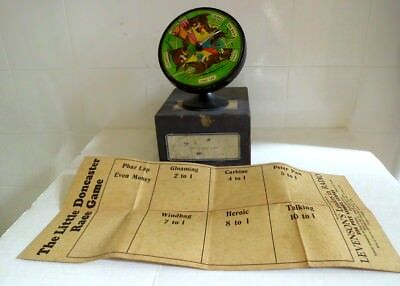 Vintage 1930s  Little Doncaster Race game with Pharlap made by Levensons Sydney