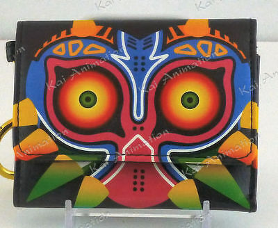 The Legend of Zelda Majora's Mask Tri Fold Wallet ~ Brand New
