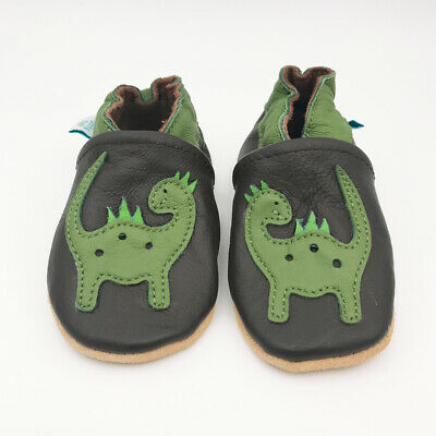 *SECONDS* BOYS/GIRL 4-5 YEARS - Dotty Fish Soft Leather Baby and Toddler Shoes