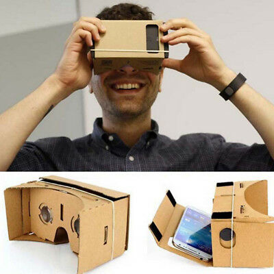 Virtual Reality Glasses For Google Cardboard 3D Glasses Film Box Smart Phones