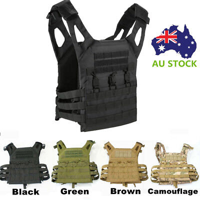 Tactical Vest Military Molle Paintball Combat Carrier Assault Vests SWAT Airsoft