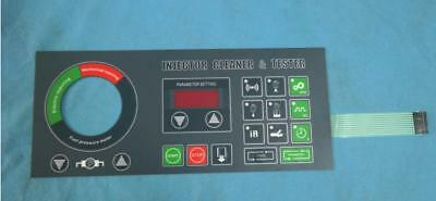 new English panel for Tektino INJ 6B injector test and cleaner
