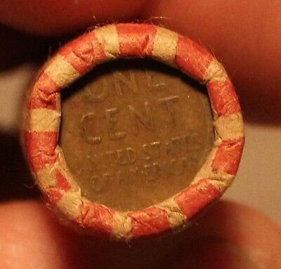 Unsearched Wheat Penny Rolls