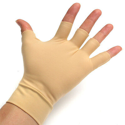 1 paire d'arthrite gants de secours en nylon spandex anti-mains de compression