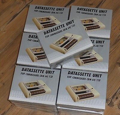 Datassette für Commodore 64/128 NEU!! Tape Deck For Commodore 64/128 NEW!
