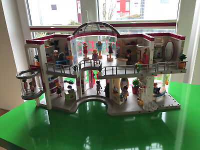 Playmobil CITY LIFE Shopping-Center mit Einrichtung 5485 + 5486  TOP!!!