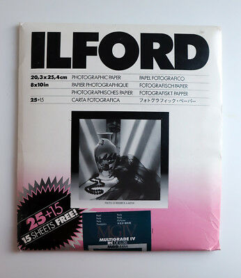 ILFORD MULTIGRADE IV RC DeLuxe - B&W paper pearl variable