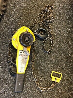 Raptor 750kg 3/4 Ton Manual Hand Ratchet Chain Lever Hoist Winch Lift Pull