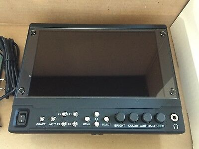 "Marshall Electronics V-LCD70MD-3GE-7""- SM Mount with HDMI and 3GE Inputs"