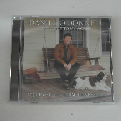CD Album Daniel O'Donnell - Welcome To My World - 23 Classics from the Jim Reeve