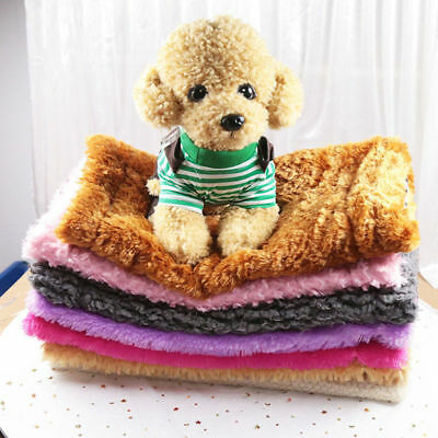 Warm Pet Mat Summer Cat Dog Puppy Animal Fleece Soft Blanket Bed Cushion Pad