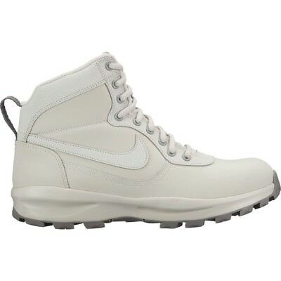 the best attitude 36fcf ebc0c Nike Manoadome Mens Size Light Bone Dust Leather Winter Boots New 844358 004