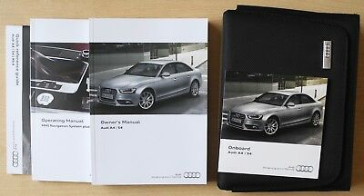 audi a4 s4 saloon estate owners manual handbook for 2012 2015 cars rh picclick co uk 2015 audi s4 owners manual 2015 audi s4 owners manual pdf