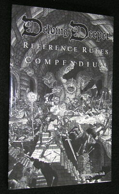 Delving Deeper Reference Rules Compendium – D&D Old School RPG