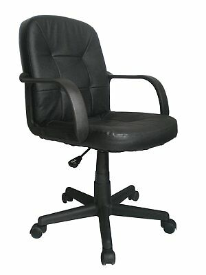 Eliza Tinsley Delph - Medium Back Leather Faced Office Chair - Low Back Chair