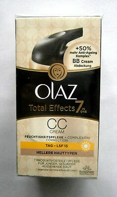 Olaz Total Effects CC Cream 7 in 1  Hell  Make-Up 50 ml