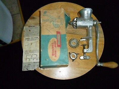 Vintage Universal No 1 Hand Crank   Meat Grinder/Food Chopper