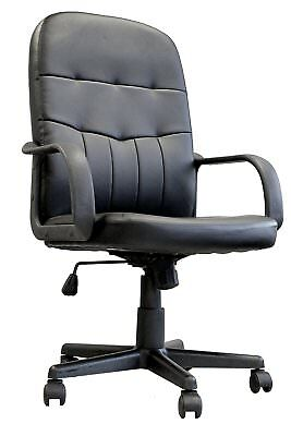 Eliza Tinsley Orion - Medium Back Leather Faced Office Armchair