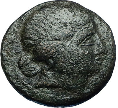 MESEMBRIA in THRACE - Black Sea Area Authentic Ancient Greek Coin ATHENA i67918