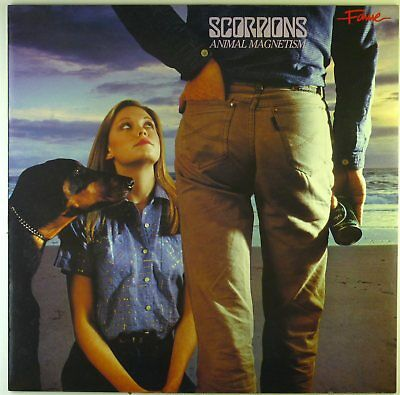 "12"" LP - Scorpions - Animal Magnetism - C2857 - cleaned"