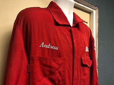 Enterprise Products FRC Oil/Gas Red Workrite Nomex Coveralls XL-RG Andrew