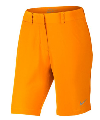 Nike Bermuda Short Solid Damen orange